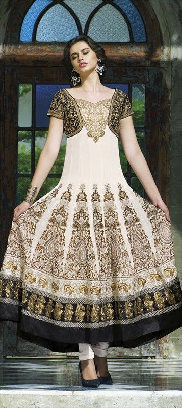 Party Wear & Wedding Wear Frocks Collection For Girls 2016-2017 (16)