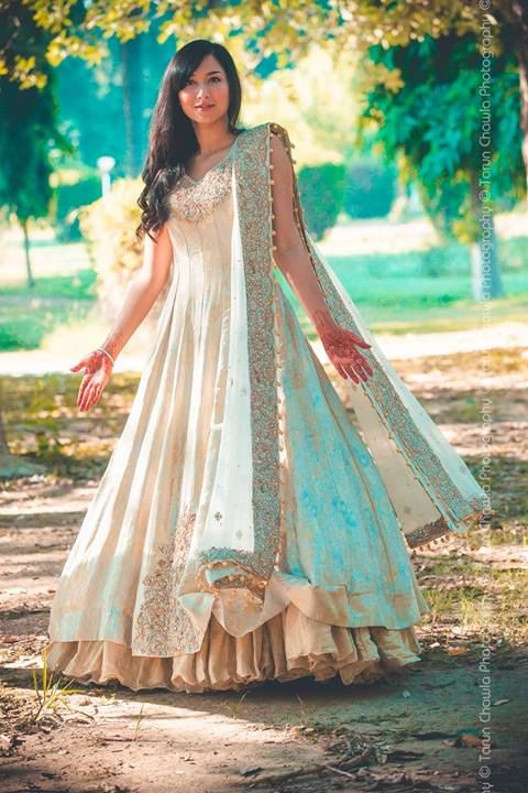 latest open frocks collection 2016