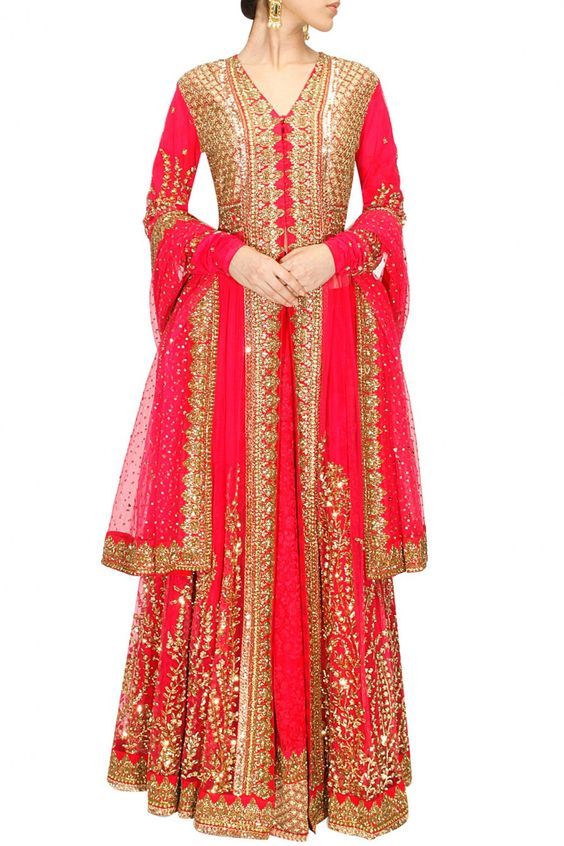 Party Wear & Wedding Wear Frocks Collection For Girls 2016-2017 (22)