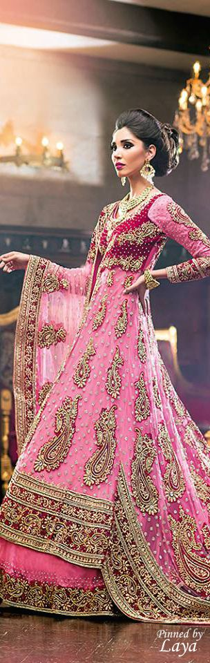 Party Wear & Wedding Wear Frocks Collection For Girls 2016-2017 (23)