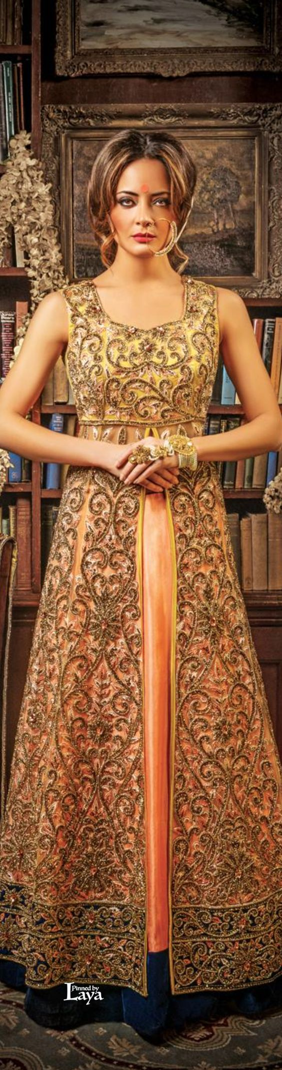 Party Wear & Wedding Wear Frocks Collection For Girls 2016-2017 (37)