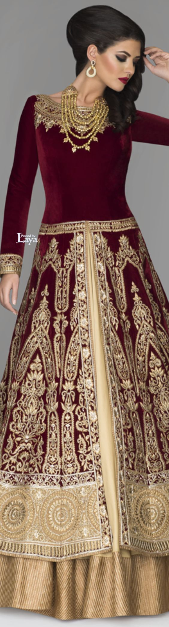 latest anarkali frocks collection for weddings 2016-2017