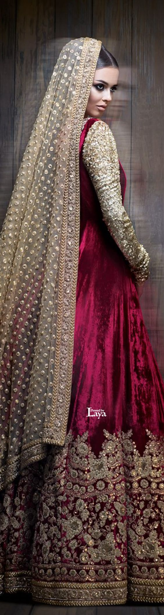 Party Wear & Wedding Wear Frocks Collection For Girls 2016-2017 (6)