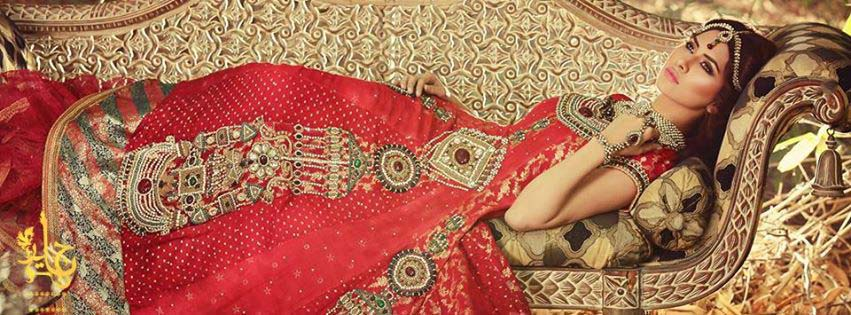 Party Wear & Wedding Wear Frocks Collection For Girls 2016-2017 (7)