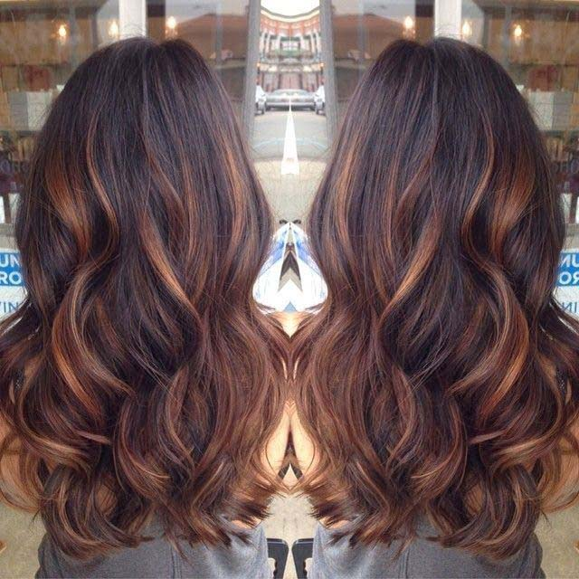 summer black red hair colors