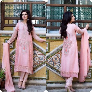 ShaPosh Embroidered Casual and Formal Dresses Collection 2016-2017 (10)