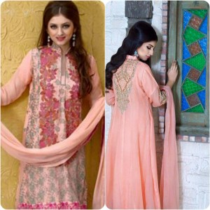 ShaPosh Embroidered Casual and Formal Dresses Collection 2016-2017 (16)