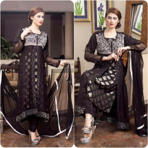 ShaPosh Embroidered Casual and Formal Dresses Collection 2016-2017 (19)