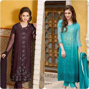 ShaPosh Embroidered Casual and Formal Dresses Collection 2016-2017 (20)
