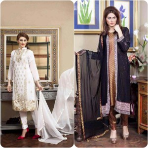 ShaPosh Embroidered Casual and Formal Dresses Collection 2016-2017 (24)