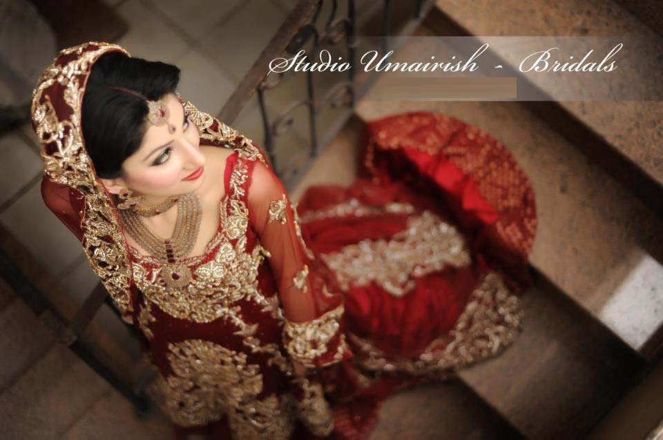 Bridal Wear Red Color Lehenga Designs Collection for Wedding Brides- Top 20 (15)