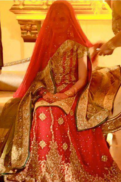 Bridal Wear Red Color Lehenga Designs Collection for Wedding Brides- Top 20 (16)