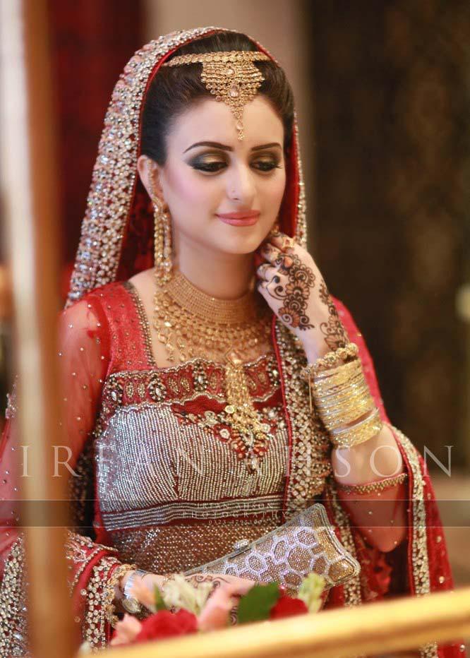 Beautiful bridal lehenga designs 2016