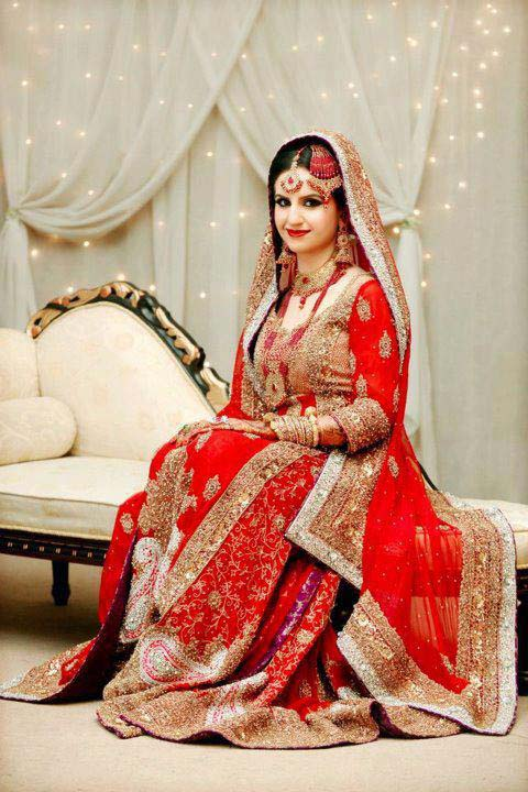 Bridal Wear Red Color Lehenga Designs Collection for Wedding Brides- Top 20 (3)