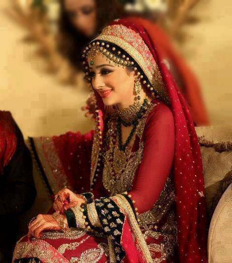 Bridal Wear Red Color Lehenga Designs Collection for Wedding Brides- Top 20 (5)