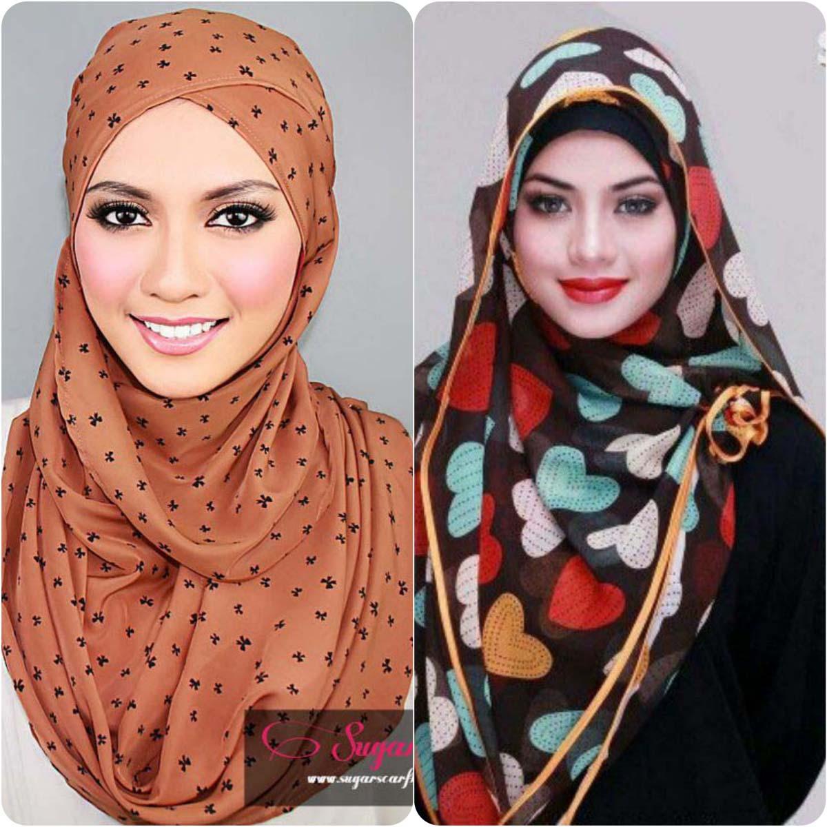 Latest Hijab Styles & Designs for Summer Fashion 2016-2017 (1)