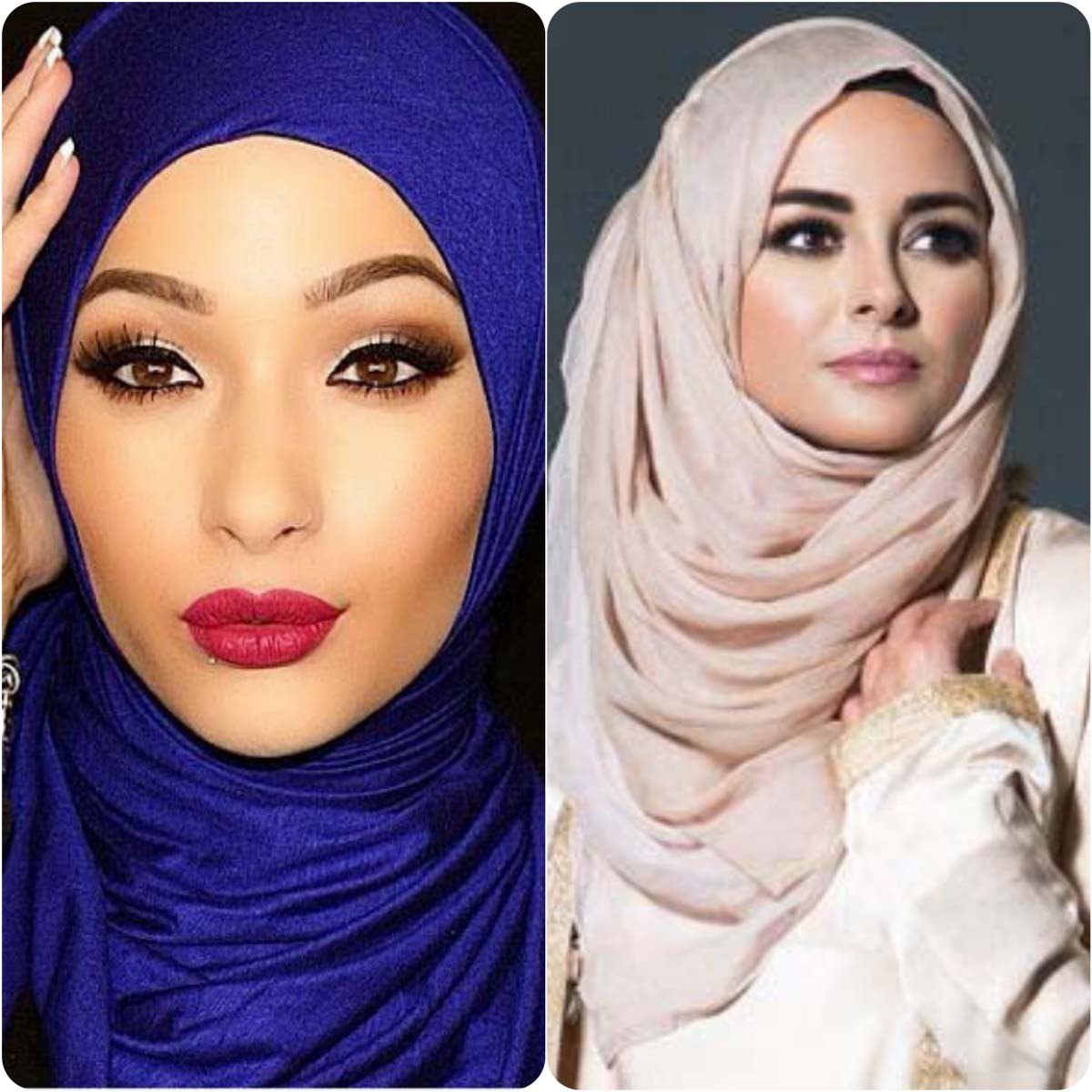 Latest Hijab Styles & Designs for Summer Fashion 2016-2017 (10)