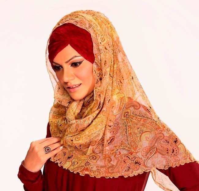 Latest Hijab Styles & Designs for Summer Fashion 2016-2017 (20)