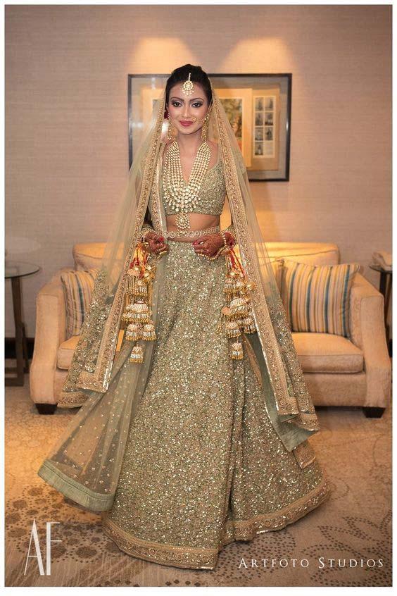 Latest Indian Designers Barat Dresses for Wedding Brides 2016-2017 (2)