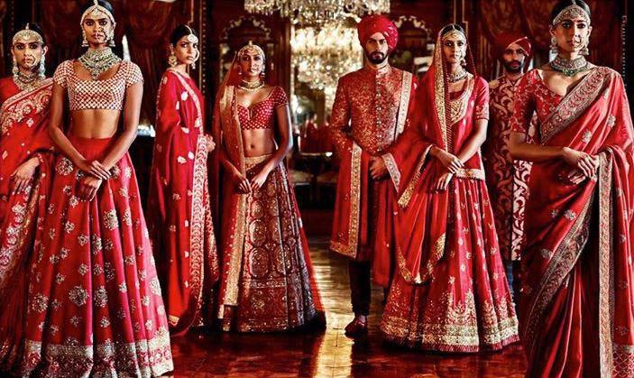 Latest Indian Designers Barat Dresses for Wedding Brides 2016-2017 (27)