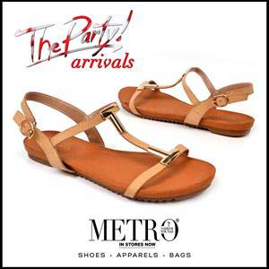 Metro Shoes Stylish Summer Footwear, Clutches and Bags Collection 2016-2017 (1)