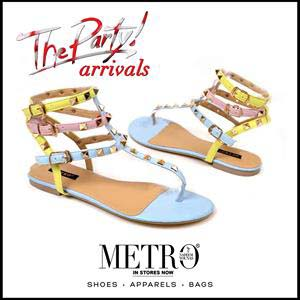 Metro Shoes Stylish Summer Footwear, Clutches and Bags Collection 2016-2017 (8)