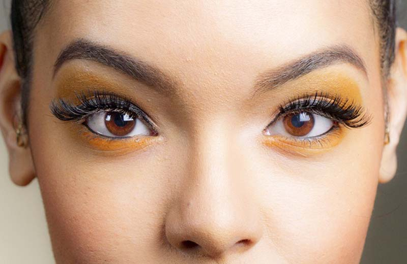 How to make ombre effect of eyes