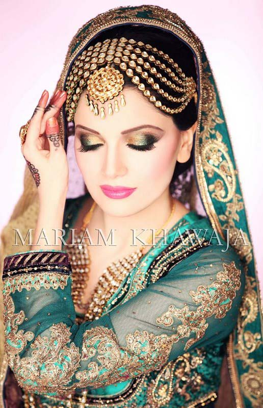 Pakistani Best Bridal Makeup Tutorial- Step by Step (20)
