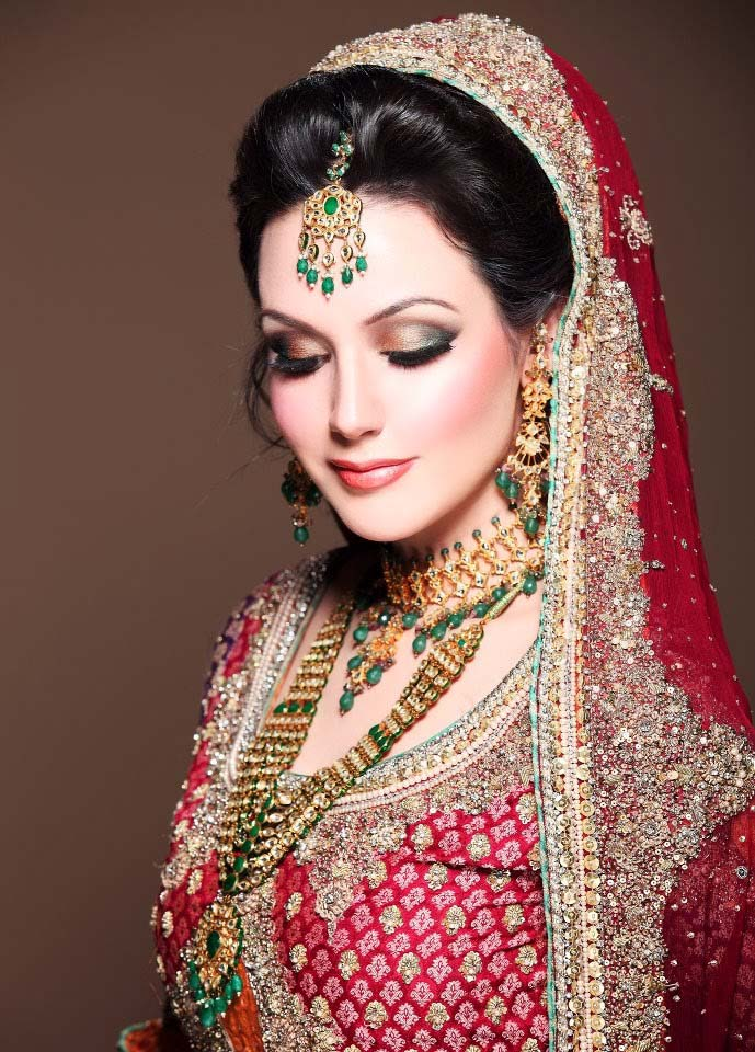 Pakistani Best Bridal Makeup Tutorial- Step by Step (3)