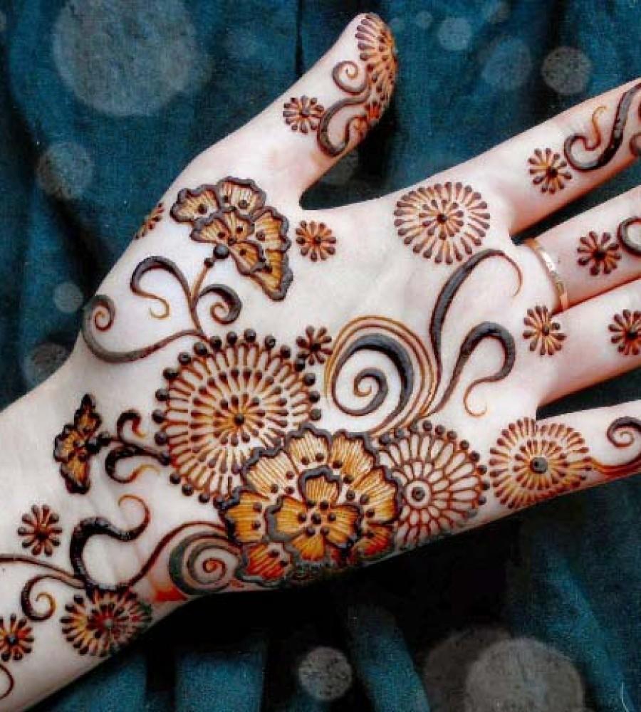 Shaded Mehndi Designs For Girls 2016-2107 (27)