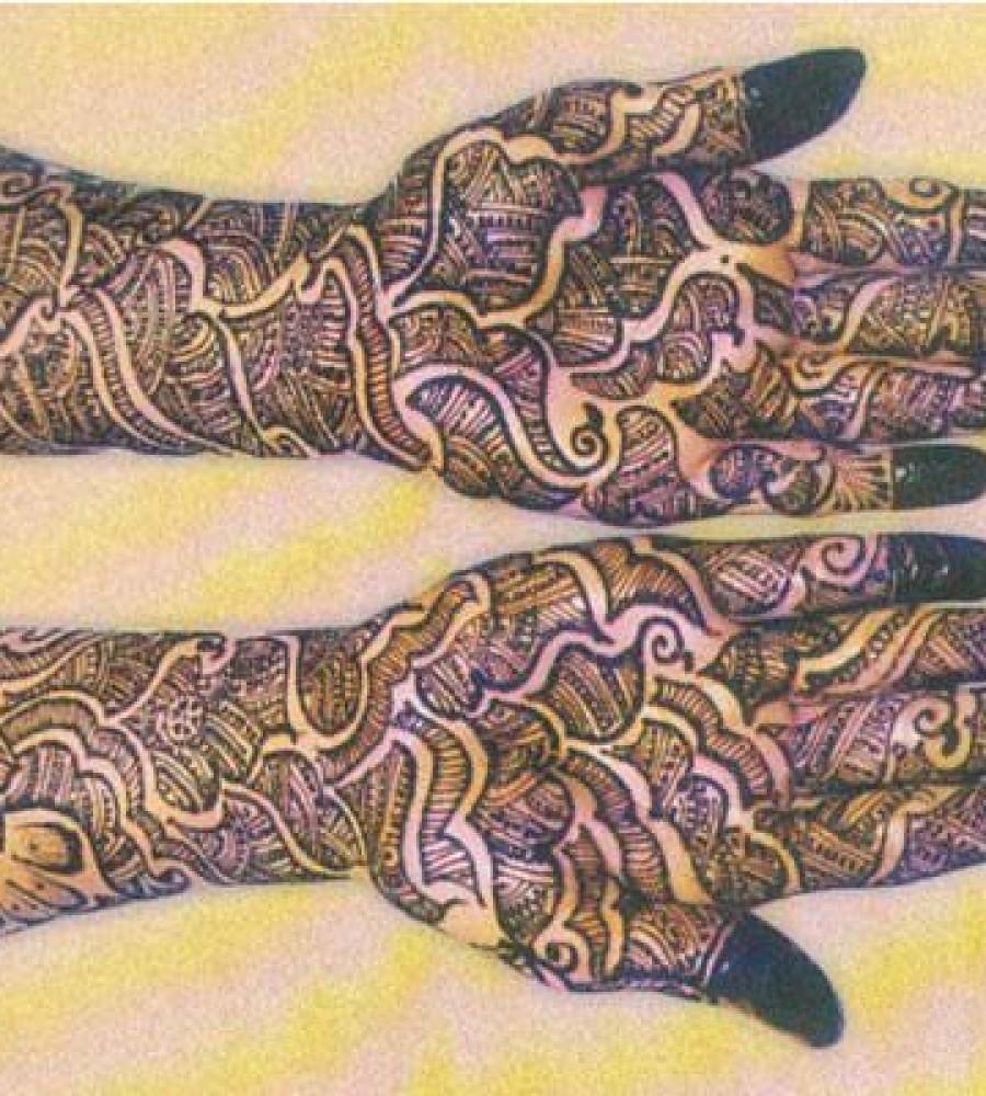 Shaded Mehndi Designs For Girls 2016-2107 (39)