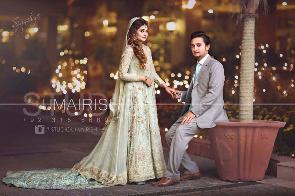 Stylish Walima Dresses For Wedding Pakistani Brides 2016-2017 (16)
