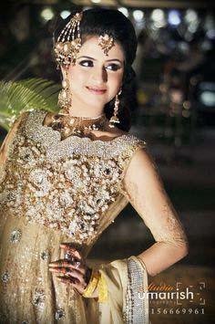 Stylish Walima Dresses For Wedding Pakistani Brides 2016-2017 (21)