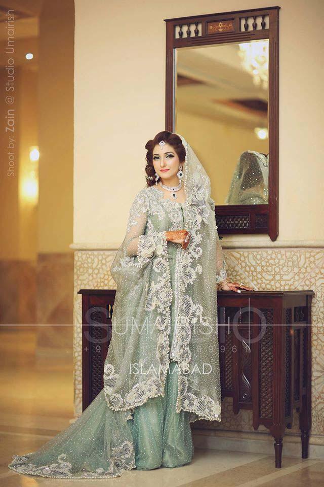 Stylish Walima Dresses For Wedding Pakistani Brides 2016-2017 (4)