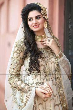 Stylish Walima Dresses For Wedding Pakistani Brides 2016-2017 (7)