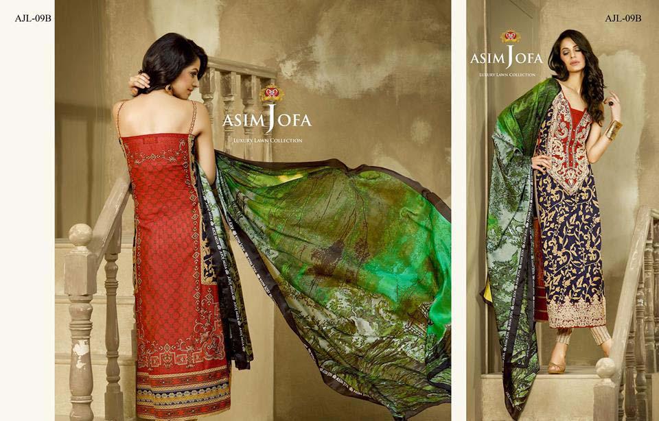 Asim Jofa Luxury Eid Lawn Collection 2016 for Women (27)