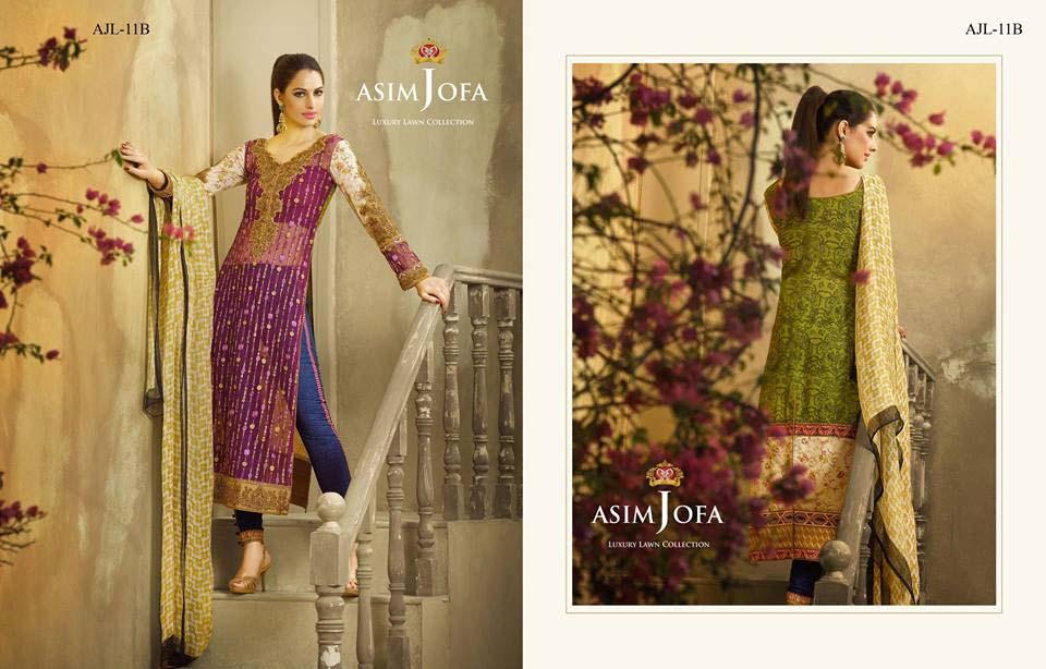Asim Jofa Luxury Eid Lawn Collection 2016 for Women (3)