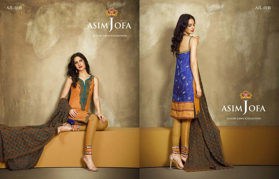 Asim Jofa Luxury Eid Lawn Collection 2016 for Women (6)