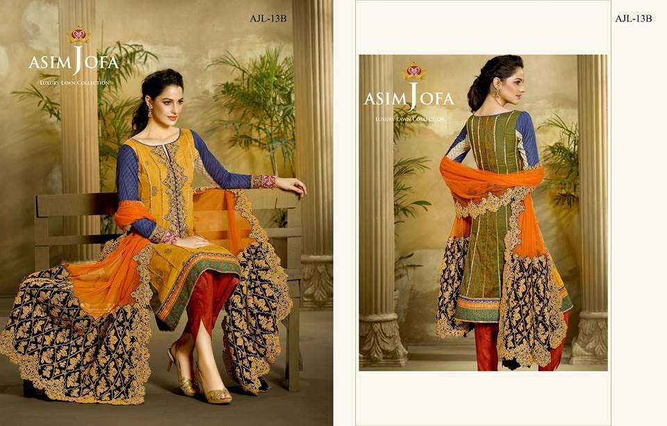 Asim Jofa Luxury Eid Lawn Collection 2016 for Women (9)