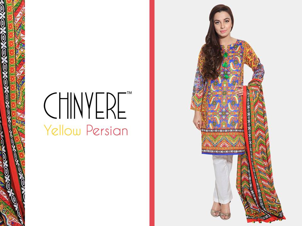 Chinyere Party Wear Dresses Design with Accessories 2016-2017 (13)