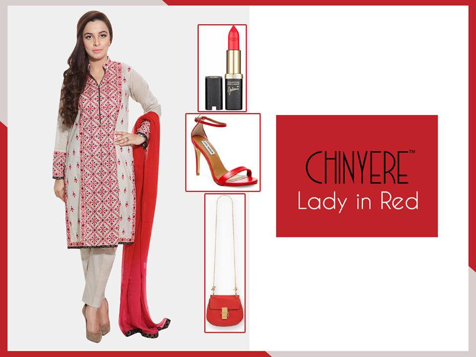 Chinyere Party Wear Dresses Design with Accessories 2016-2017 (14)