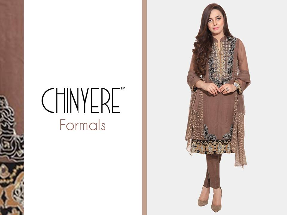 Chinyere Party Wear Dresses Design with Accessories 2016-2017 (16)