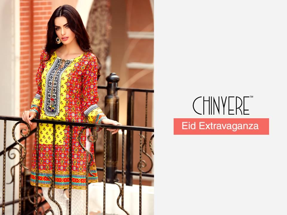 Chinyere Party Wear Dresses Design with Accessories 2016-2017 (3)