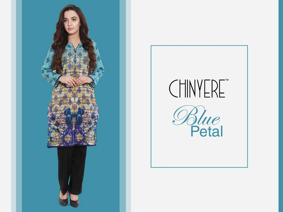 Chinyere Party Wear Dresses Design with Accessories 2016-2017 (7)