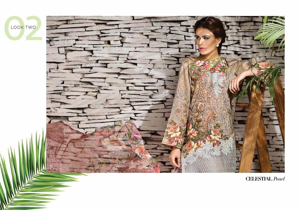 Cross Stitch Summer Eid Dresses Collection for Women 2016 (1)