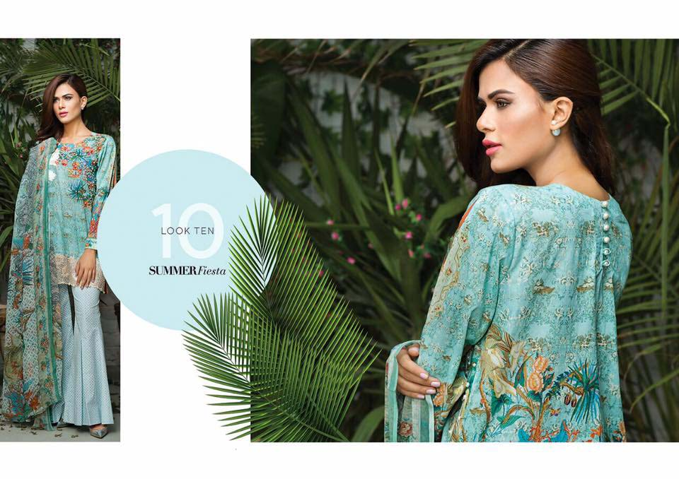 Cross Stitch Summer Eid Dresses Collection for Women 2016 (20)