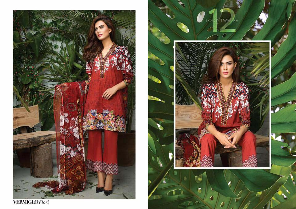 Cross Stitch Summer Eid Dresses Collection for Women 2016 (23)