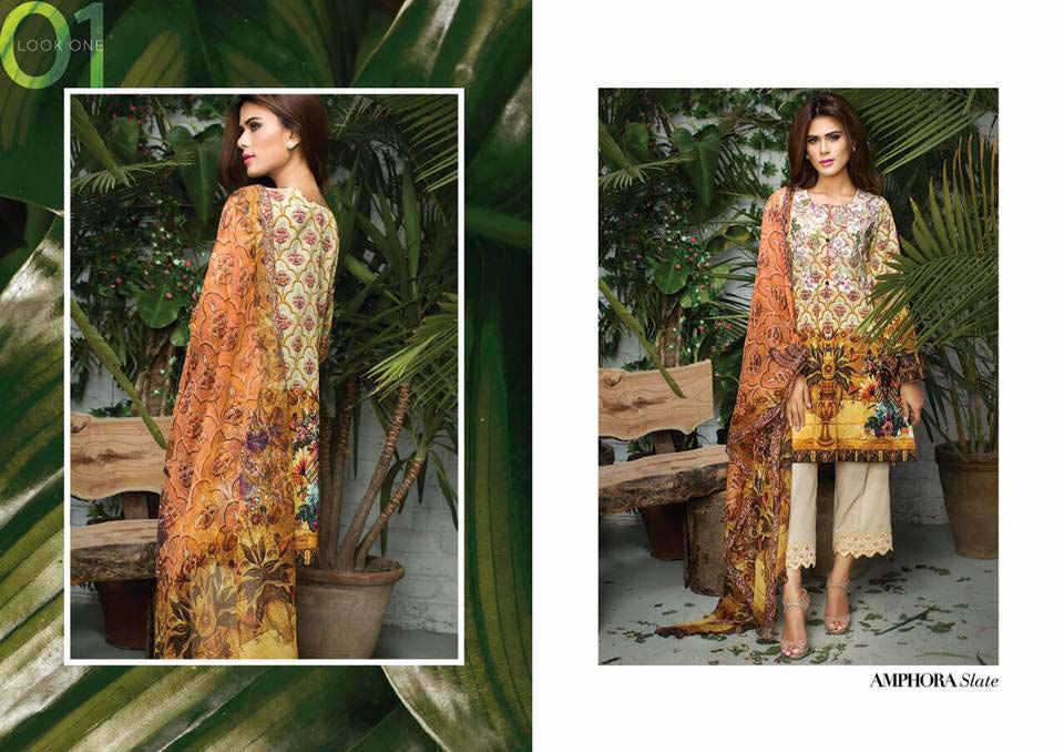 Cross Stitch Summer Eid Dresses Collection for Women 2016 (27)