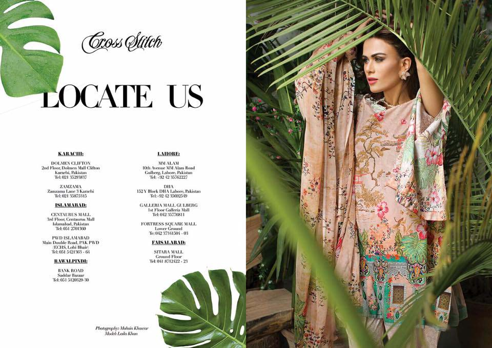 Cross Stitch Summer Eid Dresses Collection for Women 2016 (38)