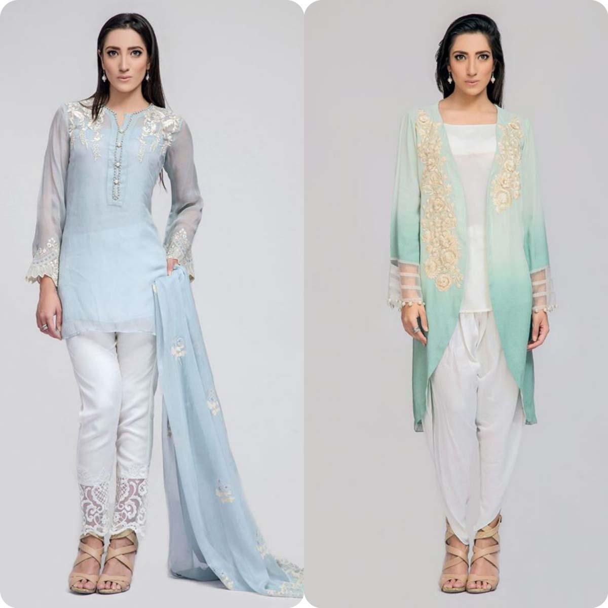 Deepak perwani Luxury Pret Eid Collection for Men and Women 2016-2017 (1)